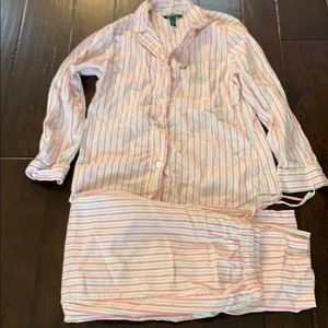 UEC Lauren Ralph Lauren flannel pajamas